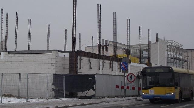 eb6152b531 Coraz szybszego tempa nabierają prace związane z budową pierwszego w  Sochaczewie marketu sieci Lidl. Wykonawca inwestycji przystąpił w ubiegłym  tygodniu do ...